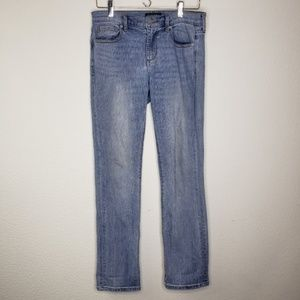 Banana Republic Premium Girlfriend Blue Jeans